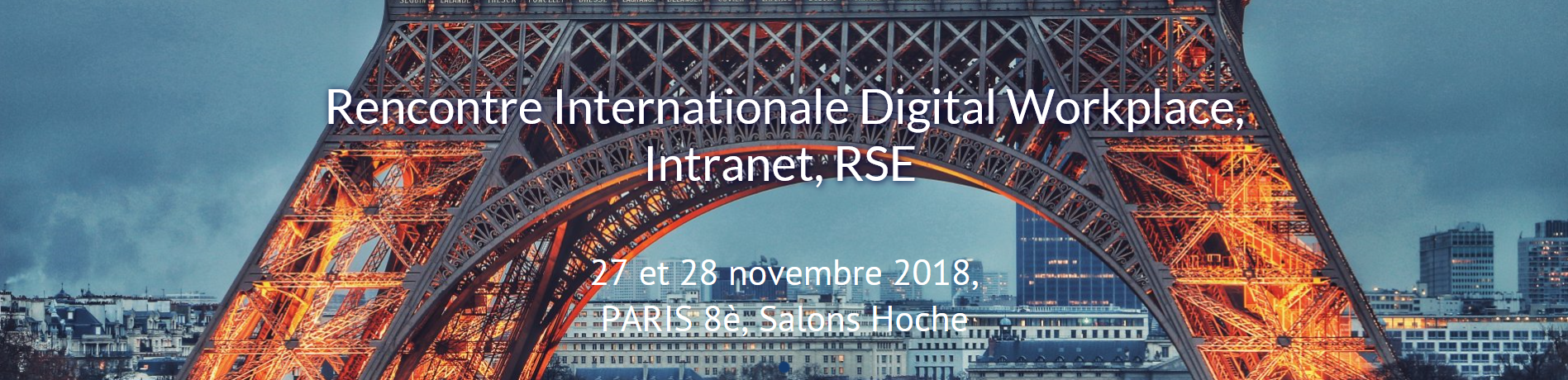 Infeeny sponsor de la rencontre internationale digital workplace intranet et rse